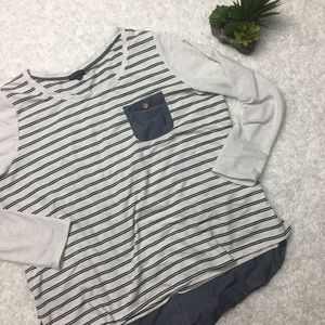 Lane Bryant Striped Sweater